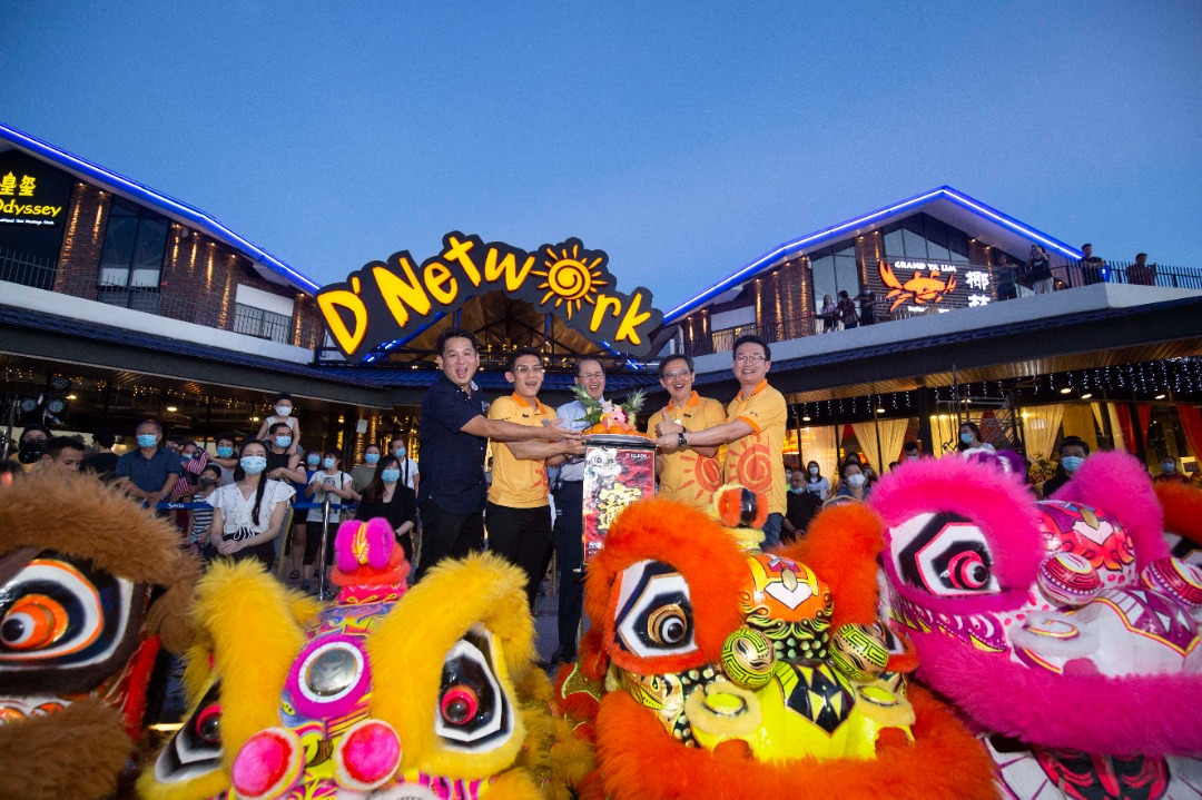 S P Setia opens D'network, world's first solar-powered hybrid F&B hub, in Setia Eco Park